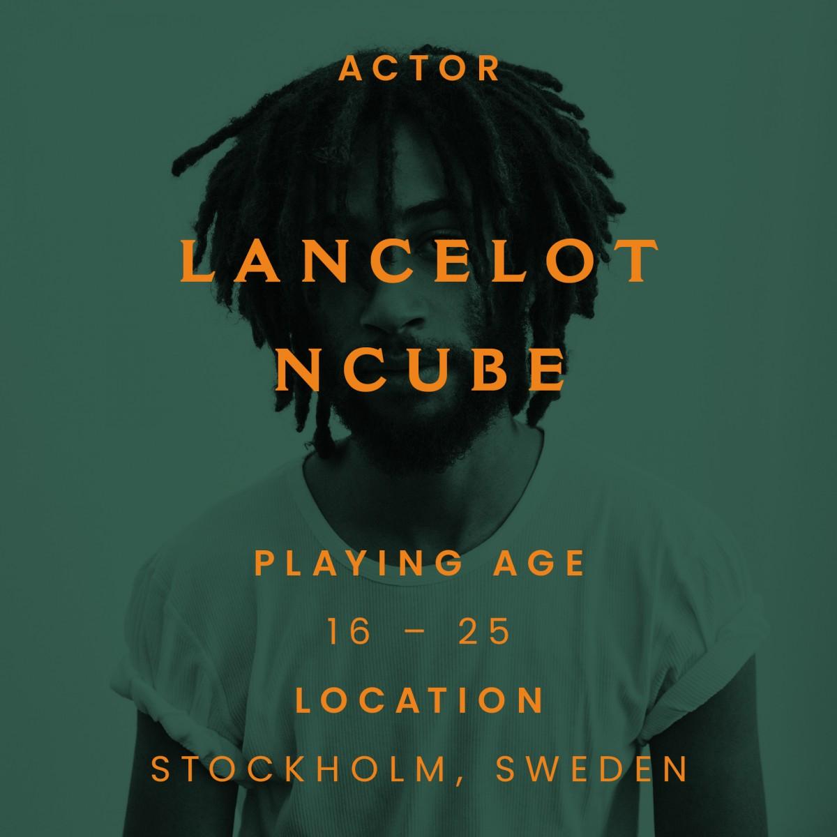 Lancelot ncube, sweden, actor