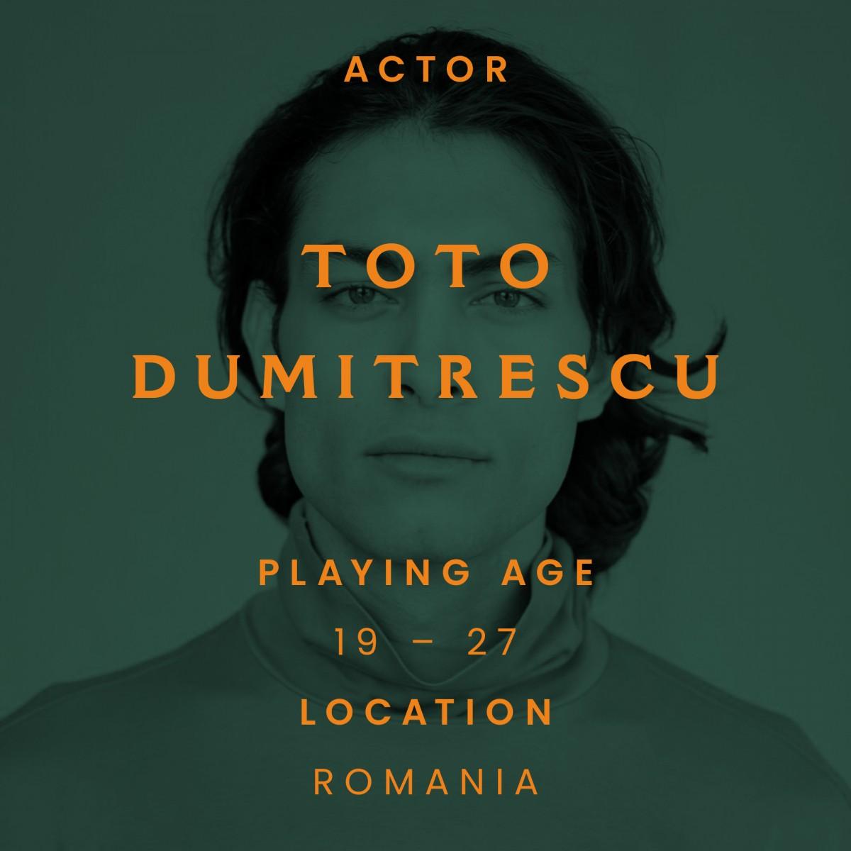 toto Dumitrescu, actor, Romania