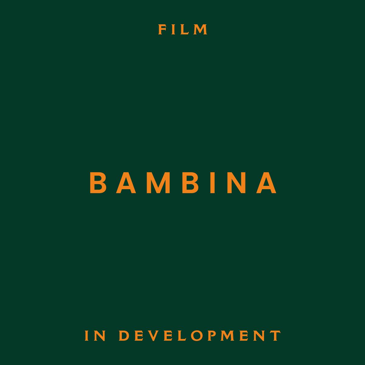 bambina, film, in development, Kate cox