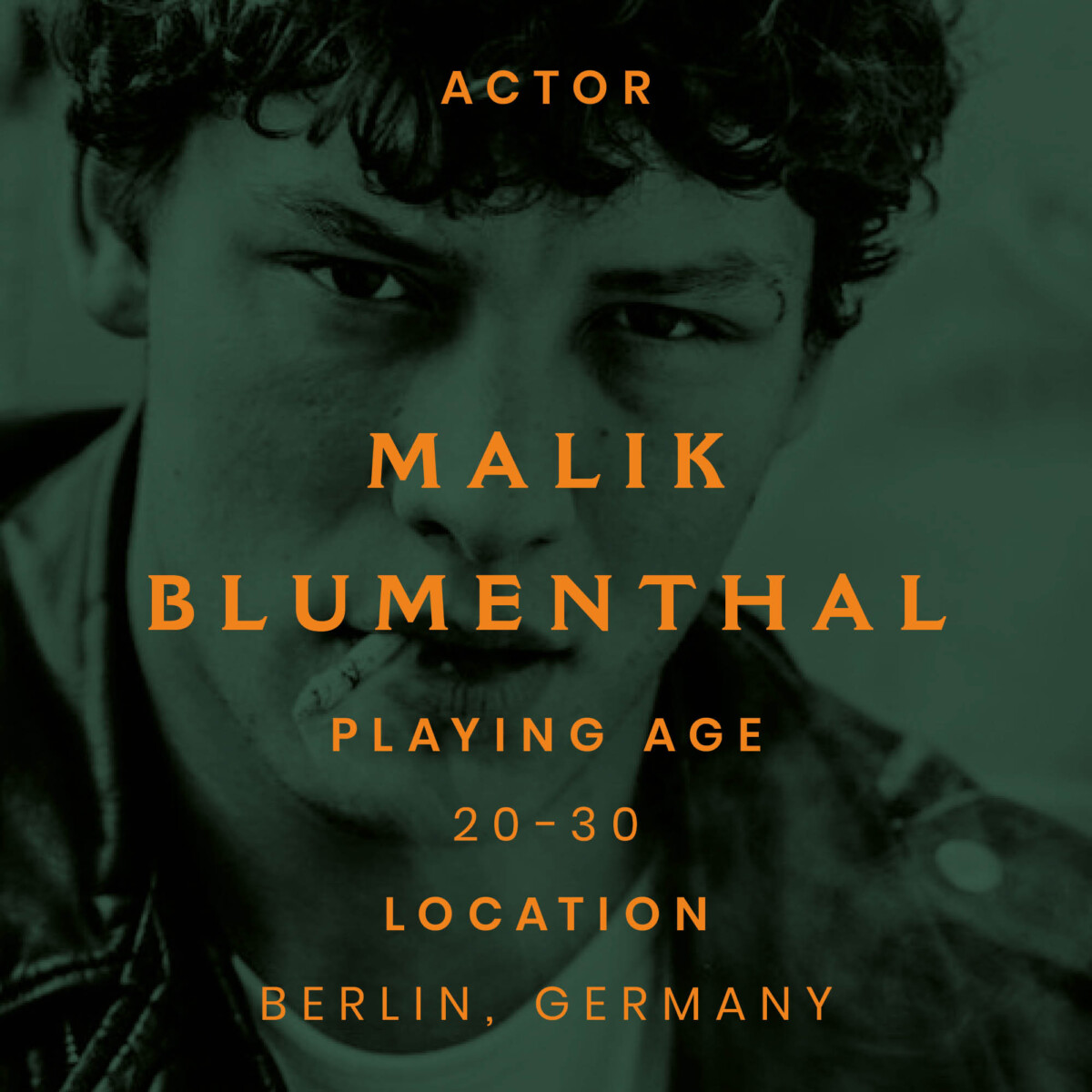 malik, Berlin, actor