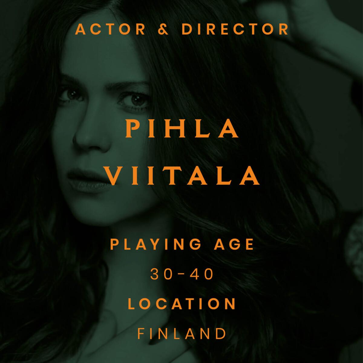 Pihla Finland actor