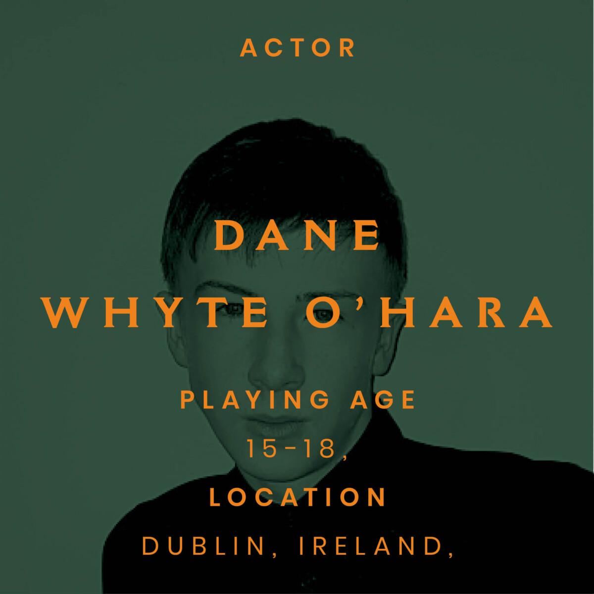 dane, Whyte o'hara, Dublin, 17
